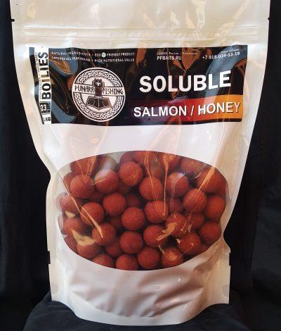 Soluble Salmon/Honey ( лосось/мед) 23 мм 1 кг WB