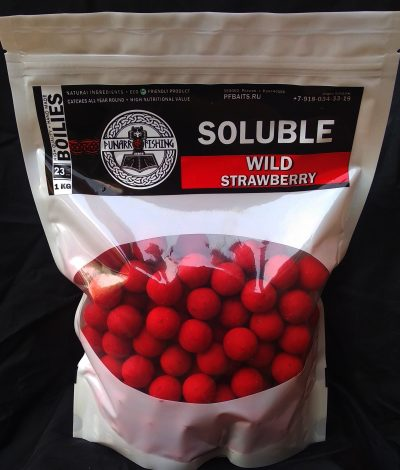 Soluble Wild Strawberry (Дикая клубника) 23 мм 1 кг
