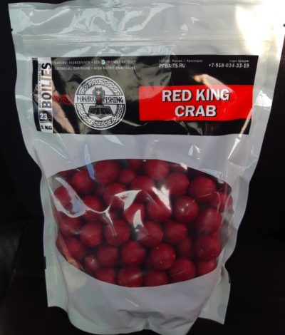 Red King Crab (Королевкий красный краб) 23 мм 1 кг