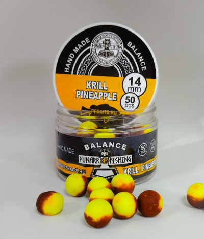Balance Krill / Pineapple 🦐🍍( криль / ананас) 14 мм