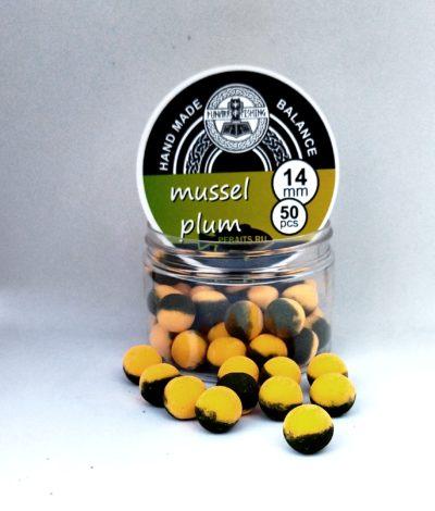 Balance Mussel / Plum ( мидия/ слива) 14 мм